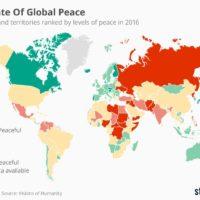 Indice de la paix dans le monde en 2016