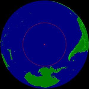 Monde - Point Nemo, le plus éloigné de toute terre sur notre planète