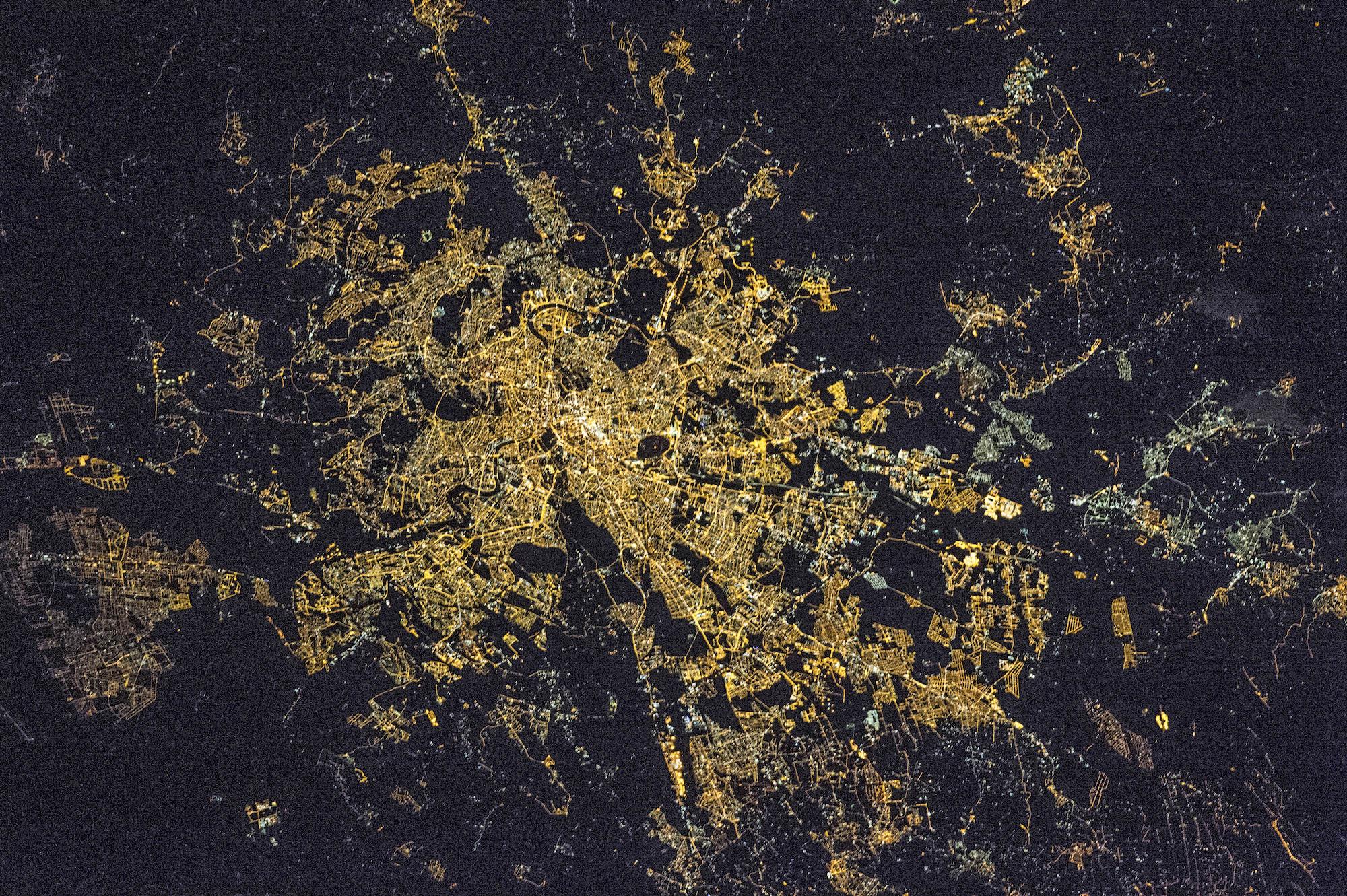 Rome la nuit, Italie