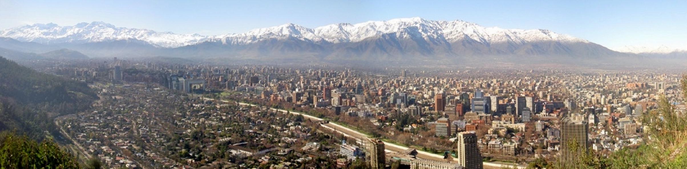 Santiago - panorama