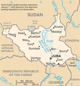 Soudan du Sud • Fiche pays • PopulationData.net