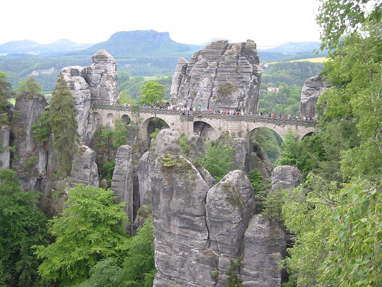 Suisse saxonne, Allemagne