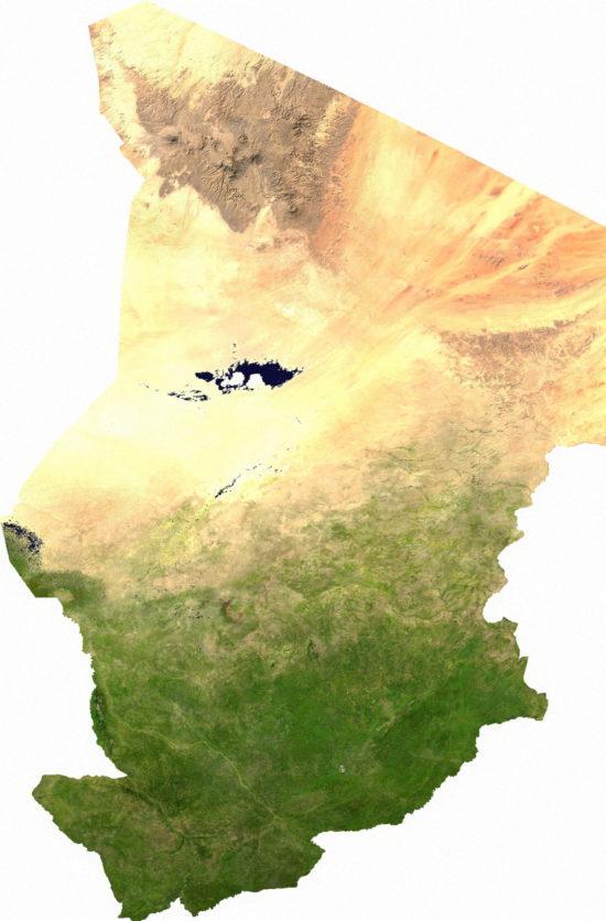 Tchad - satellite