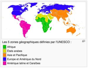 UNESCO - liste du patrimoine mondial