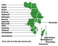 Marché commun de l'Afrique orientale et australe (COMESA)