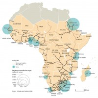 Afrique – Infrastructures de transport