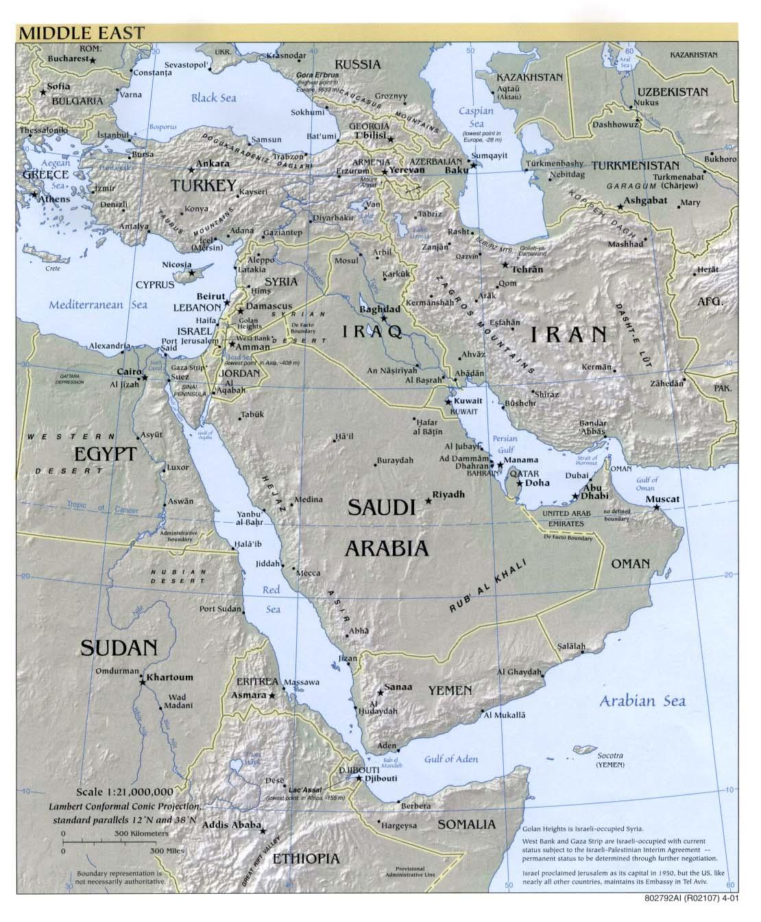 Carte Asie Mappemondenet