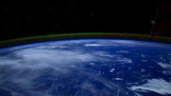 Aurores Boréales vues depuis l'espace