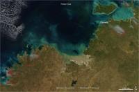 Australie : feux de forêt dans le nord
