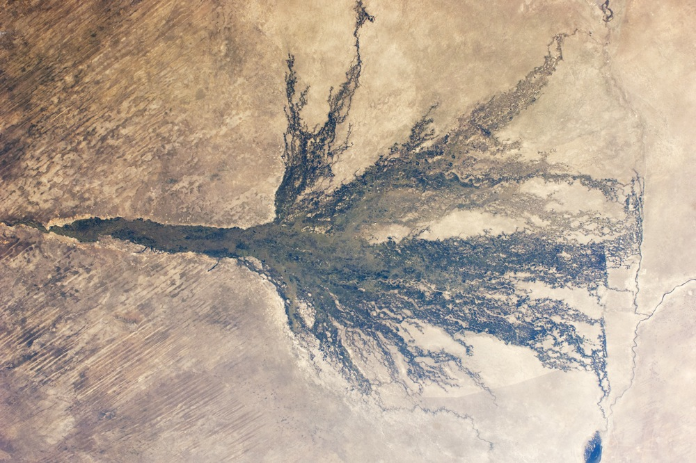 Botswana - Okavango en crue