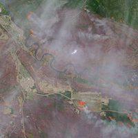 Canada : les feux progressent autour de Fort McMurray