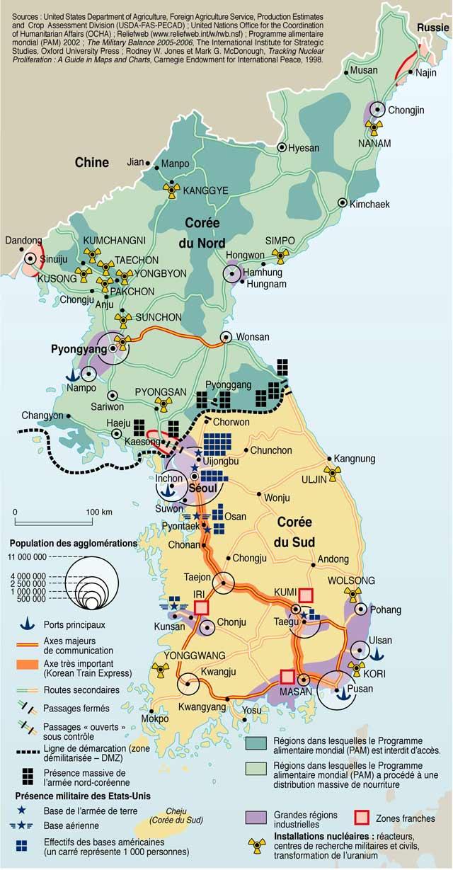Corées - nucléaire