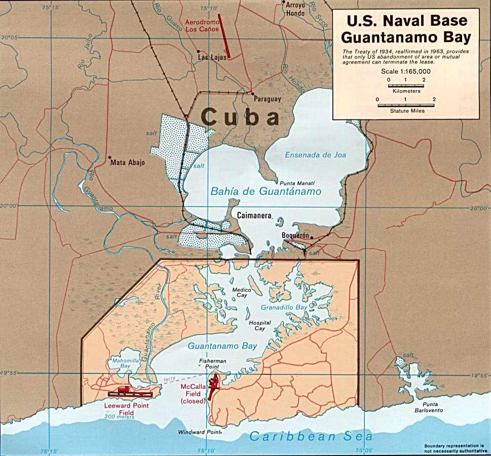 les dessous des cartes Cuba_guantanamo
