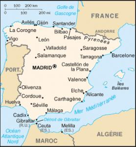 Espagne Fiche Pays Populationdata Net