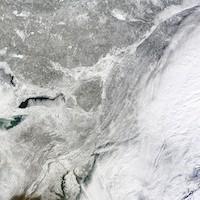 Vague de froid extrême sur l'est du Canada et des Etats-Unis