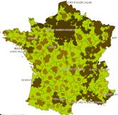 France : liste des Espaces Urbains