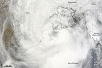 Bangladesh : cyclone Aila