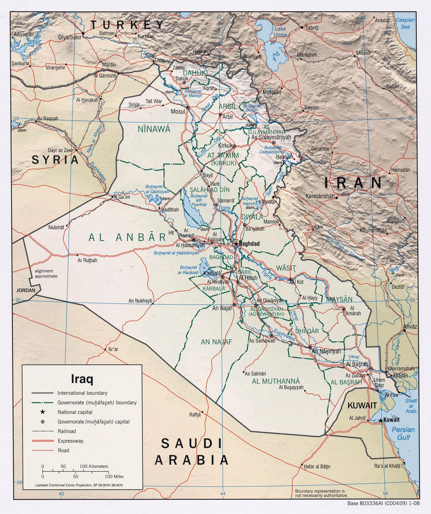 Irak - relief