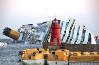 Costa-Concordia : carte de la zone du naufrage