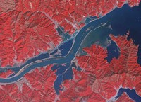 Japon : images satellites des dégâts du tsunami
