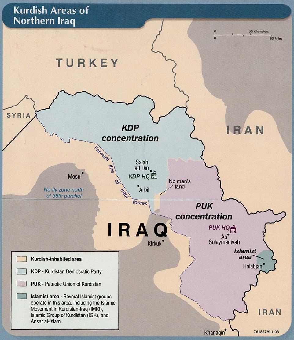 Kurdistan - politique