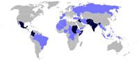 Monde : zones de conflits