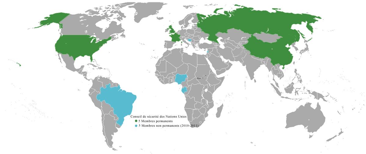 Monde - ONU - Conseil de sécurité
