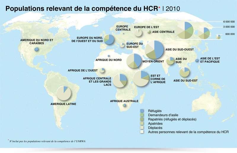 Monde - Réfugiés (2011)