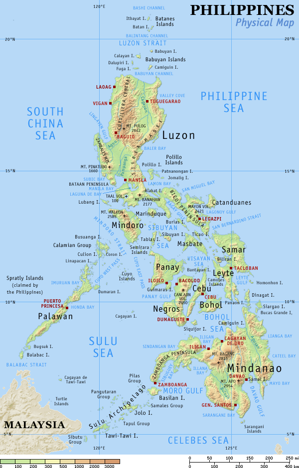 Philippines - relief