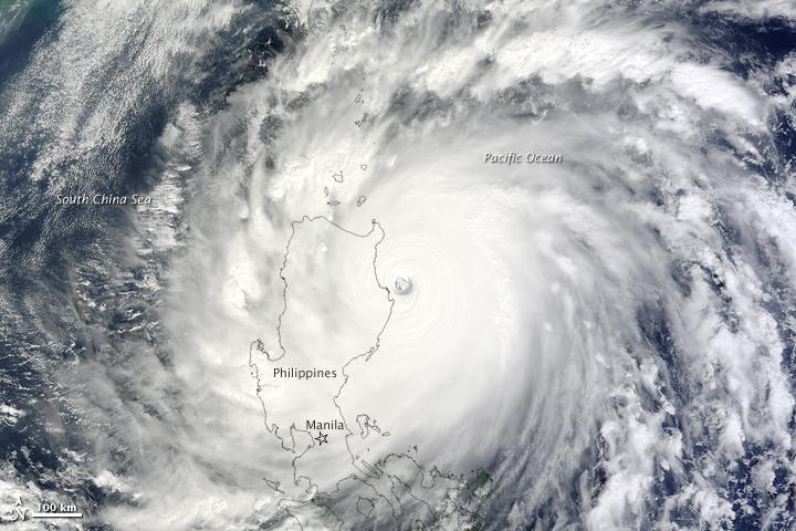 Philippines - Typhon Megi (18 octobre 2010)