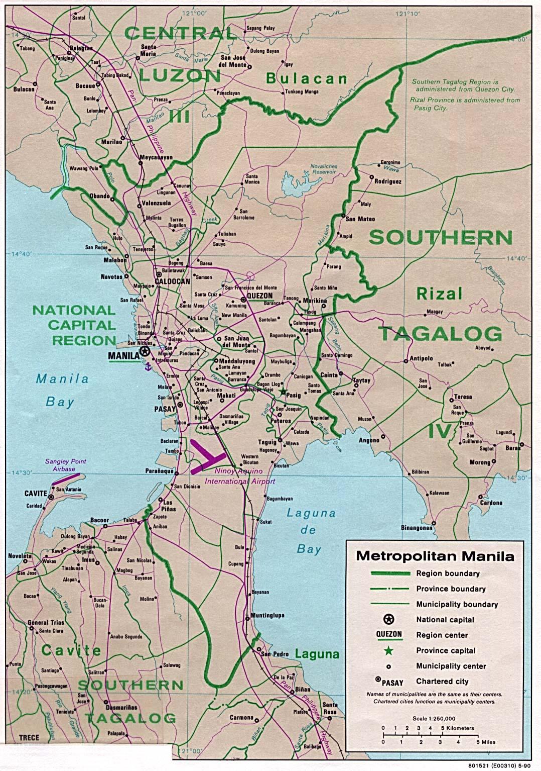 Manille - région