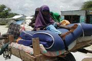 Somalie : 100 000 déplacés en un mois