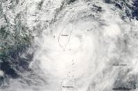 Taïwan : typhon Morakot