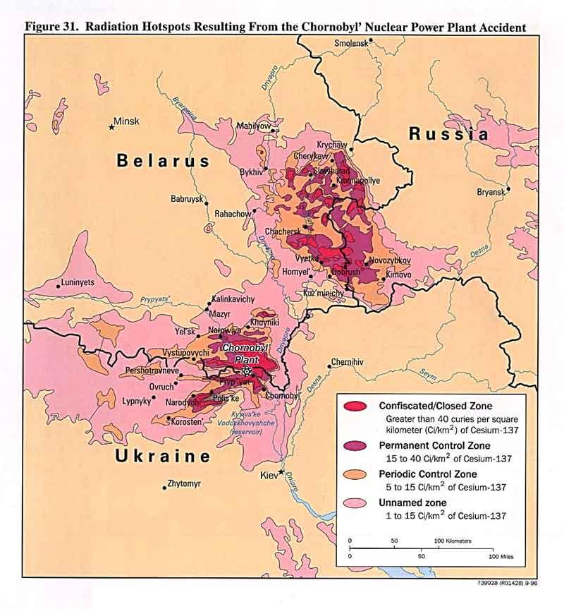Ukraine : Tchernobyl (1996)