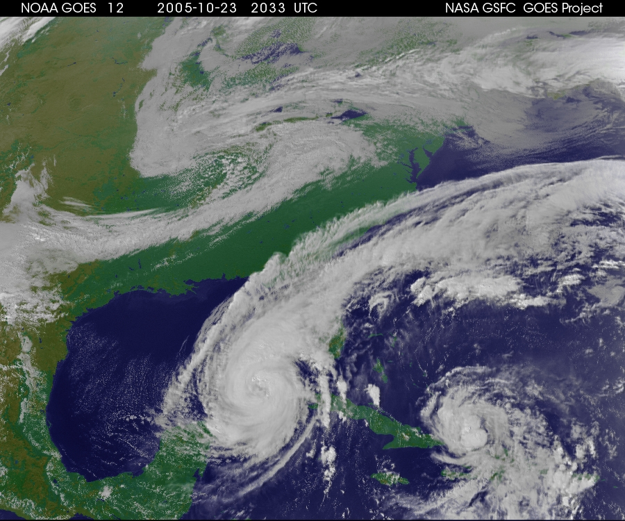 Cyclone Wilma (23 octobre 2005)